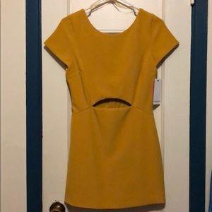 Zara Mustard romper